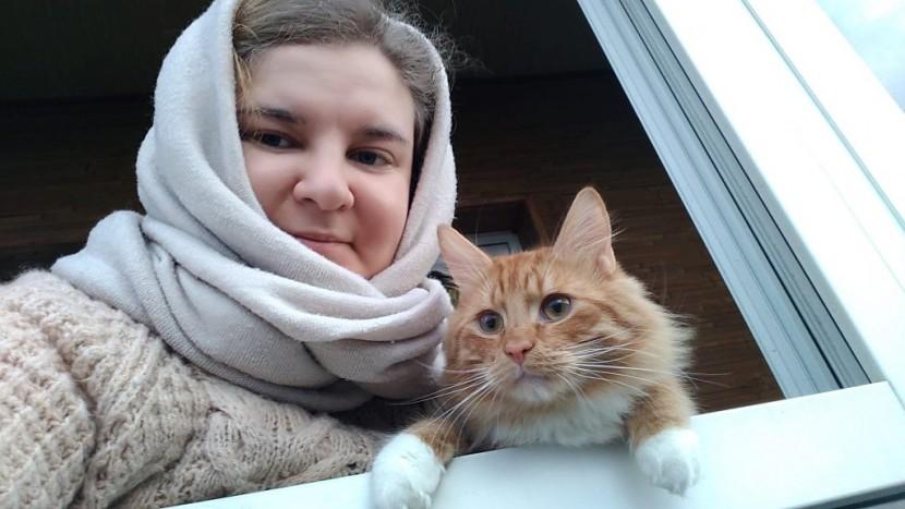 Прогулки с котом