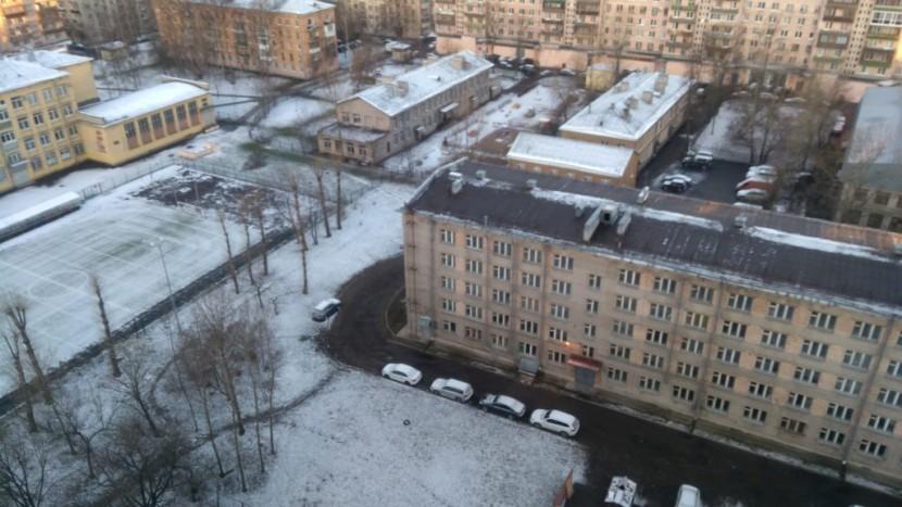 Снежный апрель