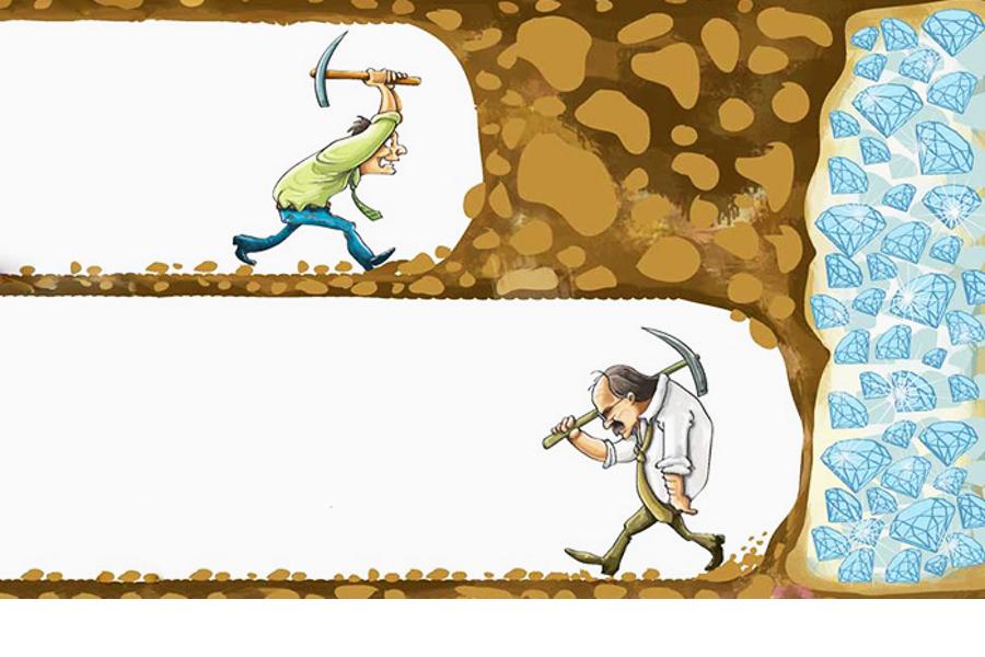 нельзя пасовать перед трудностями.