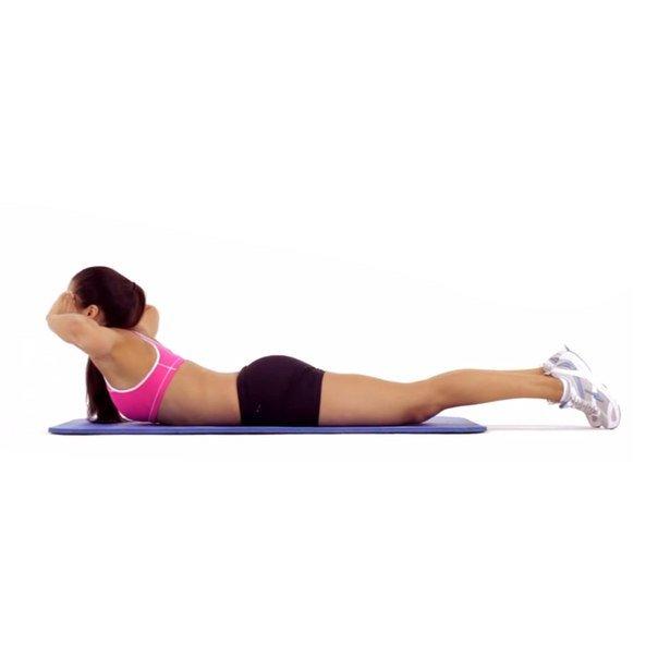 качание спины